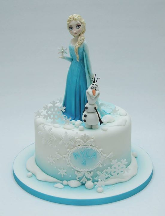 Frozen Movie Cake Decorations