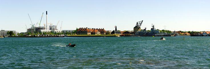 Navy Denmark in the port of Copenhagen