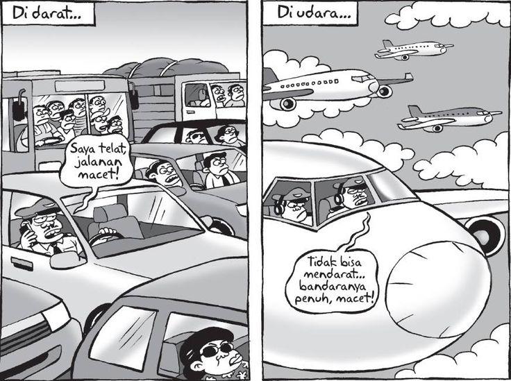 Kartun Benny, Kontan: Darat & Udara