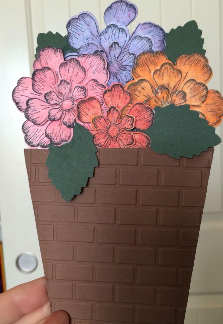 The 306 best CARDS - FLOWER POT CARDS images on Pinterest | Flower ...