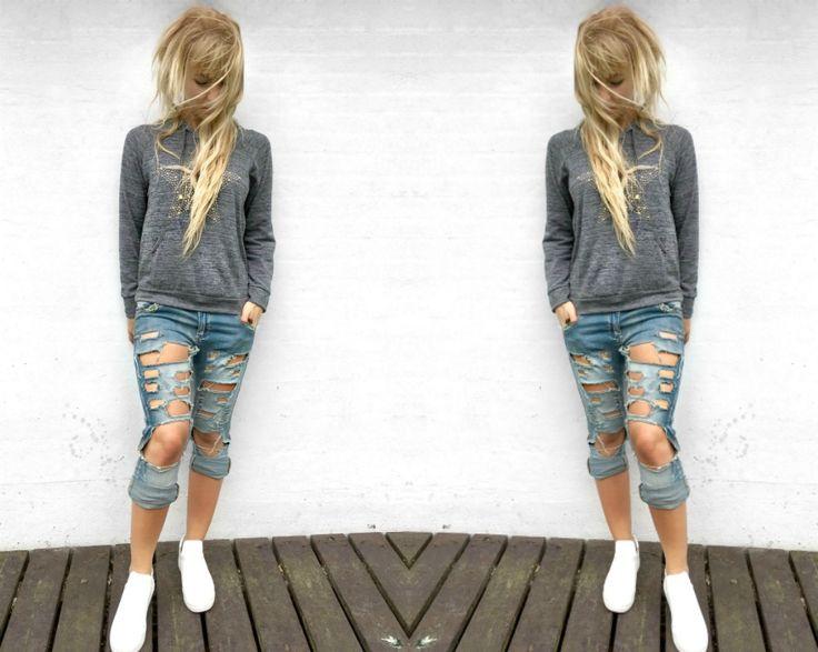 outfit-med-hullede-jeans