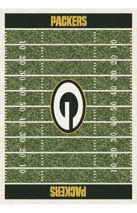 Milliken NFL Home Field Green Bay Packers Green Rug
