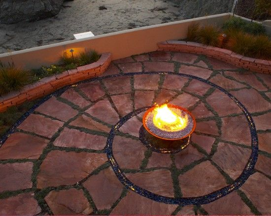 Eclectic Firepits Design, Pictures, Remodel, Decor and Ideas