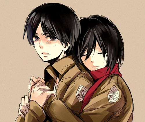 This was my OTP when I was like 12. Now that I'm getting into AOT again I probably ship Eremika again too...