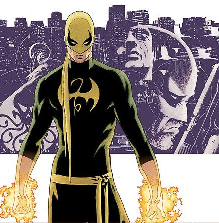 """Iron Fist (Daniel """"Danny"""" Rand) is a fictional superhero appearing in American comic books published by Marvel Comics. Created by Roy Thomas and Gil Kane, he first appeared in Marvel Premiere #15 (May 1974). He is a practitioner of martial arts and the wielder of a mystical force known as the Iron Fist, which allows him to summon and focus his chi."""