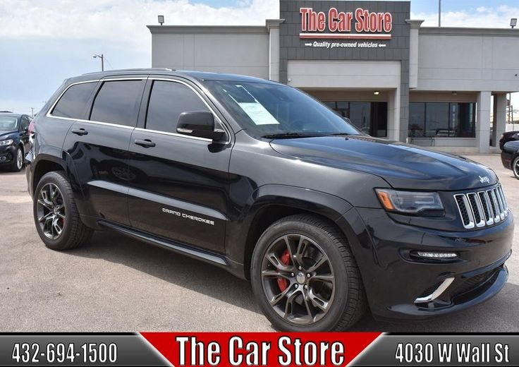 2015 Jeep Grand Cherokee 4WD 4dr SRT #TheCarStore #MidlandTX #AutoSales #UsedCars #Inventory