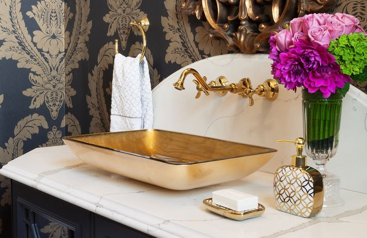 34 Bathrooms and Powder Rooms with Unique Vessel Sinks