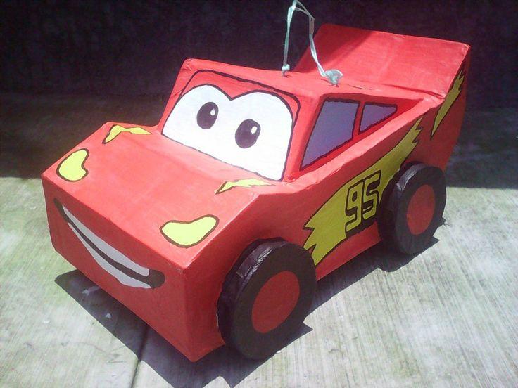 Piñata Cars - $ 210.00 en Mercado Libre