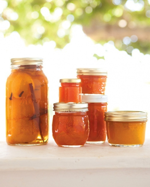 Peach jam recipe preserve peach jam and jam recipes - Jam without boiling easy made flavorful ...