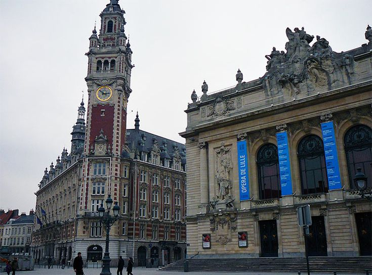 The heart of the city, Lille's Grand Place. Lille, #France #iGottaTravel