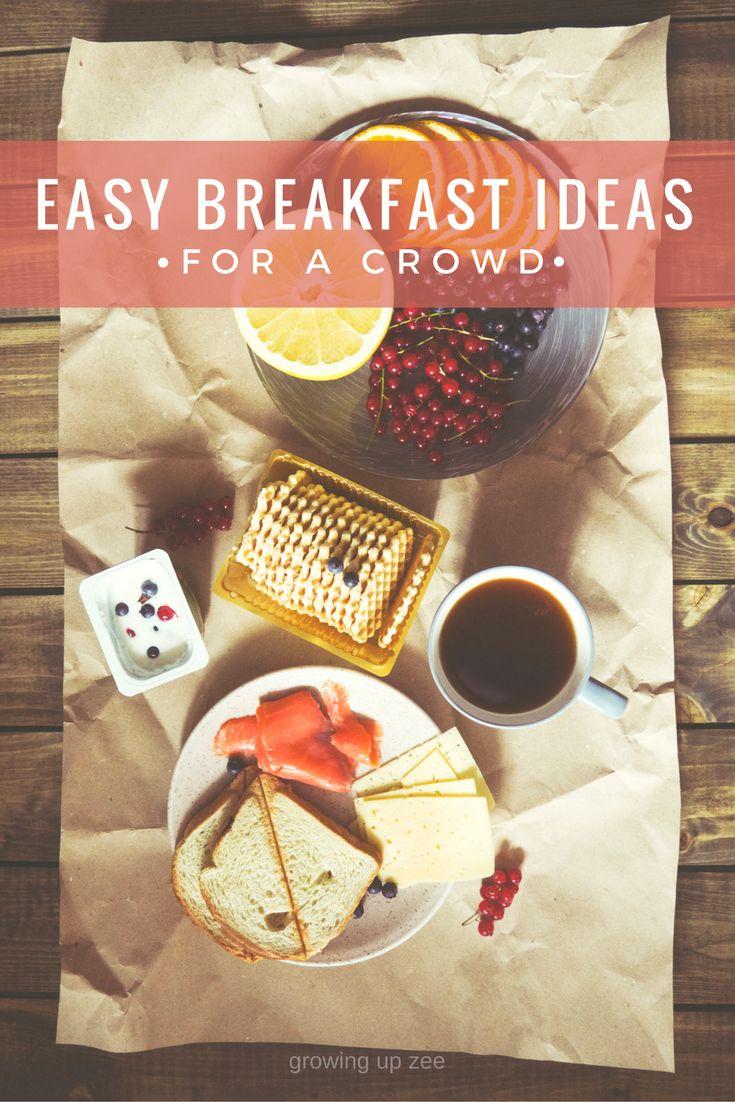 easbreakfast ideas for a crowd