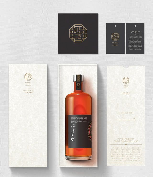 Shinsegae Traditional Liquor on Packaging of the World - Creative Package Design Gallery
