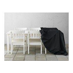 """TOSTERÖ Cover for furniture set, black - black - 84 5/8x53 1/8 """" - IKEA"""