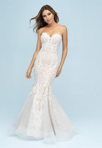 e89322d445c Sweetheart Neck Lace Sleeveless Ball Gown Wedding Dress in 2019 ...