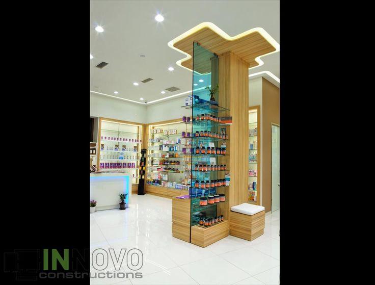 Κατασκευή φαρμακείου στο Ίλιον κατασκευή στο κέντρο του χώρου