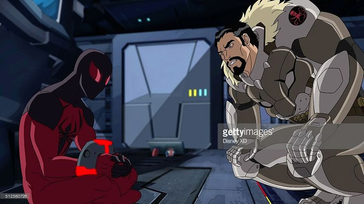 SINISTER 6 - 'Double Agent Venom' - Spider-Man and Scarlet Spider must overcome Kraven in order to rescue their kidnapped teammate, Agent Venom. This episode of 'Marvel's Ultimate Spider-Man VS. The Sinister 6' airs Sunday, March 20 (9:00 - 9:30 A.M. EST) on Disney XD. HUNTER