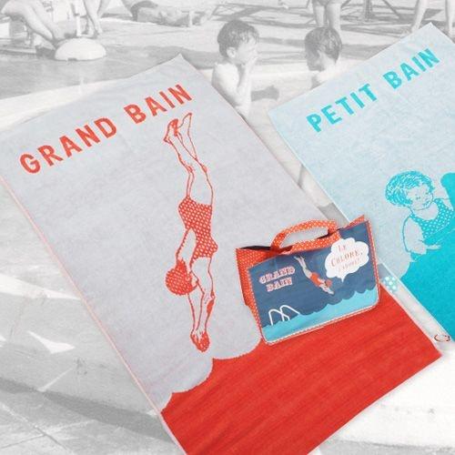 Serviette de plage - chez Splash  design enfant  Pinterest