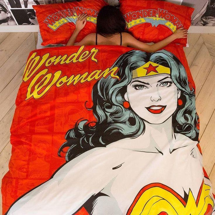 Primark Wonder Woman bedding duvet bed