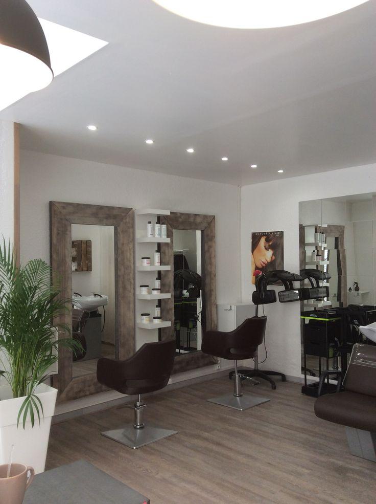 81 best Dco salon de coiffure  images on Pinterest  Hair dos and Hair salons