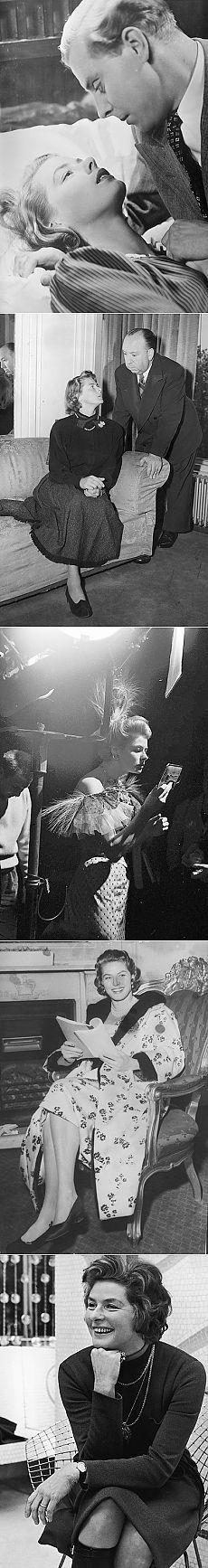 Ингрид Бергман: жизнь звезды в фотографиях | Ностальгический клуб любителей кино .