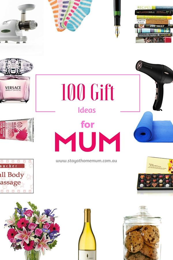 Is your mum hard to buy for? Here's 100 ideas for every type of mum!