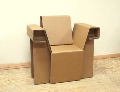 41 Best Cardboard Chair Project Images On Pinterest