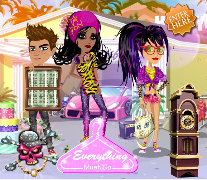 Everything Must Go Theme on #moviestarplanet #MSP www.moviestarplanet.com