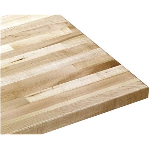 """Solid Maple Workbench Top 96"""" Wide x 30"""" Deep x 1-3/4"""" Thick 