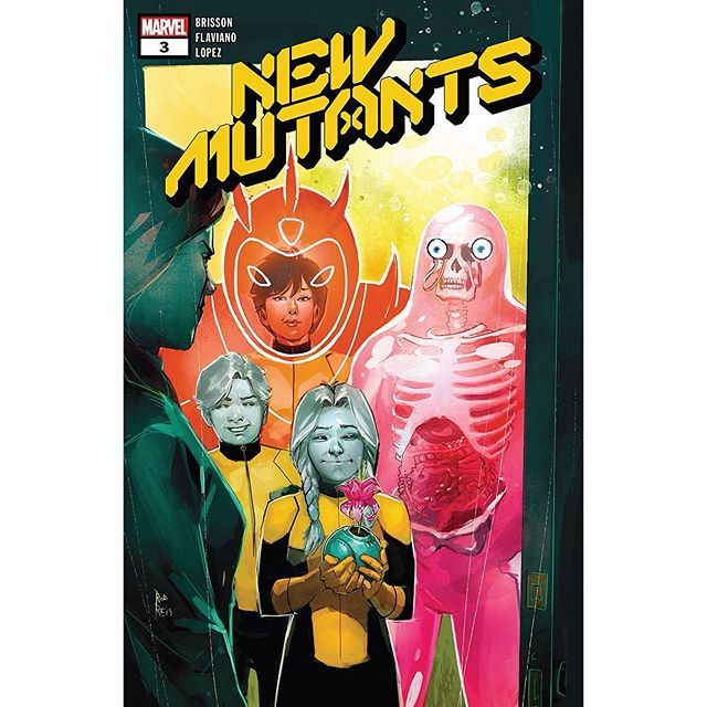 New Mutants 2019 3 Written By Ed Brisson Art By Flaviano Cover By Rod Reis The Future Comes Knocking While The Origin In 2020 Comic Book Covers Marvel Comic Books