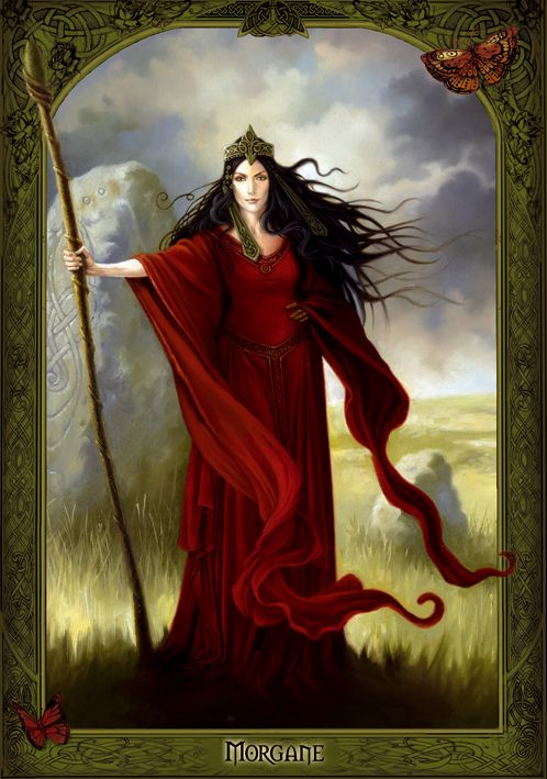 Celtic Goddess Morrigan THE MORRIGU/MORRIGAN /MORRIGHAN / MORGAN(Ireland, Wales, and Britain)