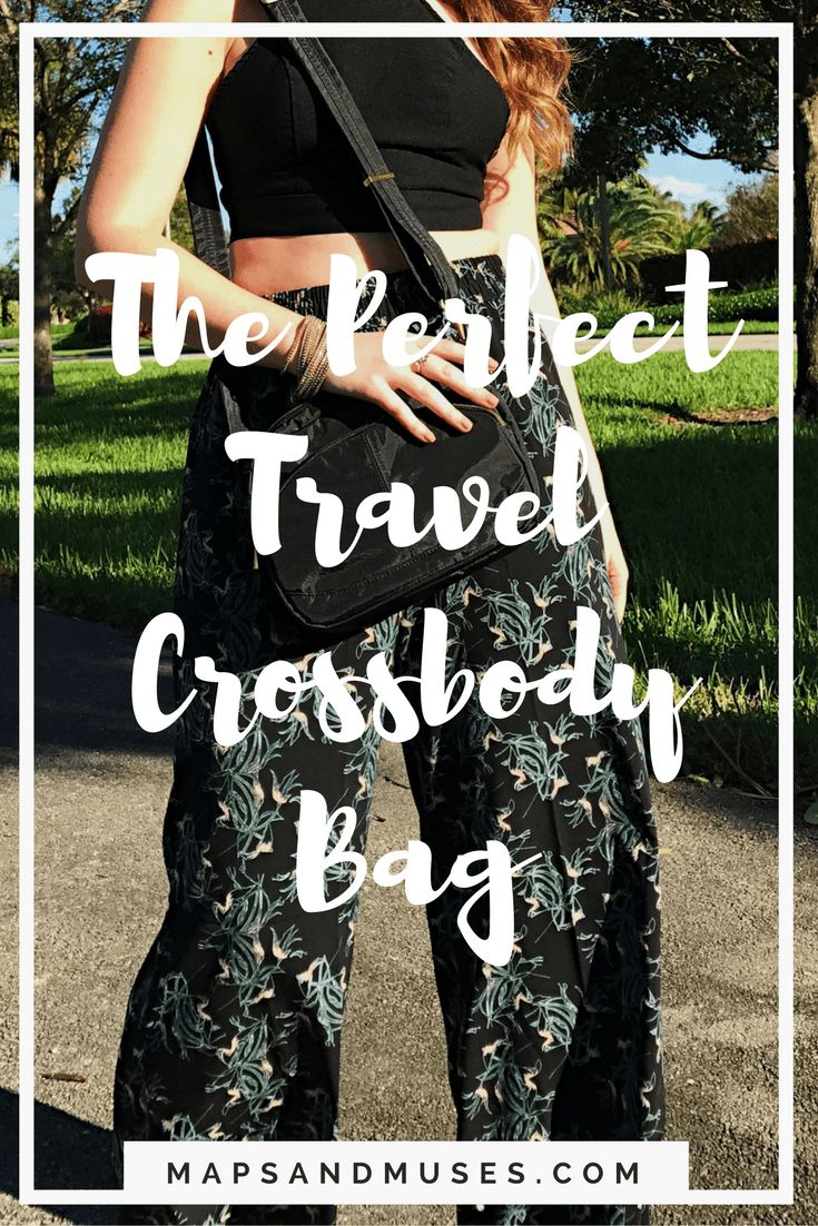 Searching for the perfect bag for traveling? Look no further! I have found THE travel crossbody bag that is stylish, safe, and functional! Read more here: https://www.mapsandmuses.com/perfect-travel-crossbody-bags/ Travel | Crossbody Bags | Travel Crossbody Bags | Bags for Travel | Travel Style | Travel Tips | Travel Bag | Travel Purse | Purse