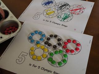 Toddler Approved!: Fun With Olympic Rings