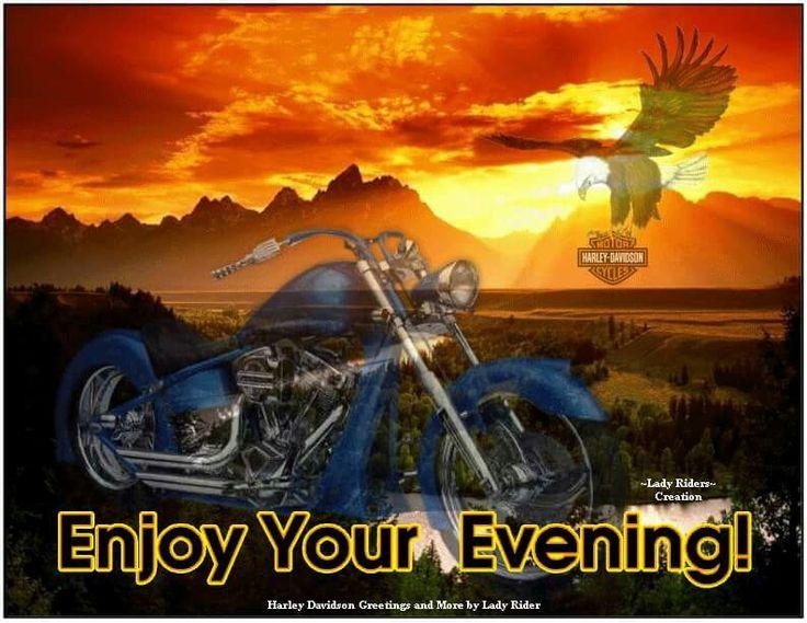 "Good Karma Bikes >> 92 best HD ""GOOD EVENING"" images on Pinterest   Harley ..."