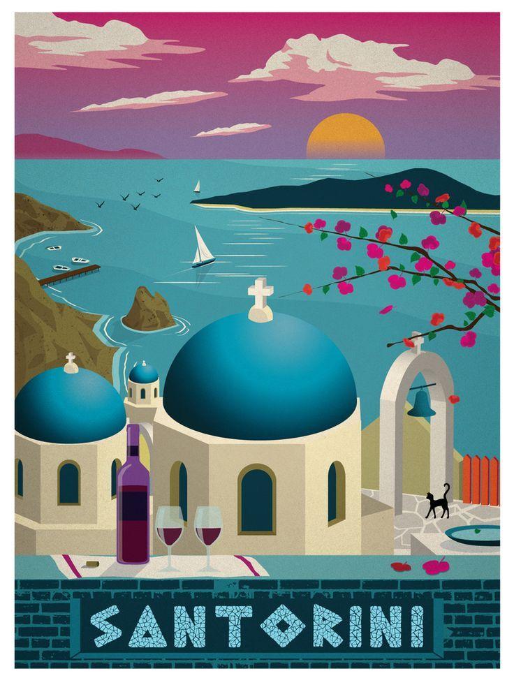 <3 <3 Santorini, Greece