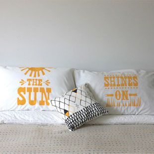 Beneath The Sun Pillowcase Set