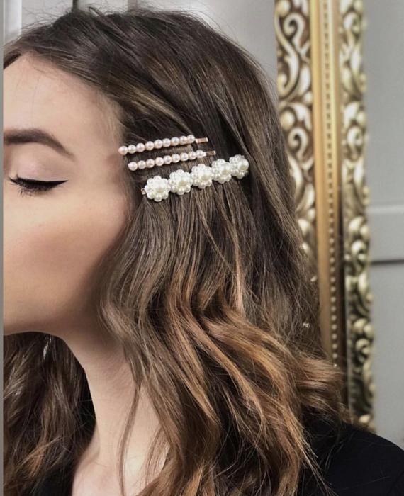 #blumen #bow #clip #clips #hair #hairgrip