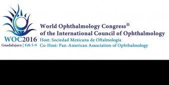 과달라하라 세계 안과 학회 WOC 2016 Internatioal Congress of Ophthalmology