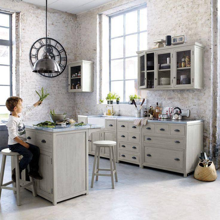 Les Meilleures Images Du Tableau Cuisine Sur Pinterest - Meuble cuisine casserolier 120 cm pour idees de deco de cuisine
