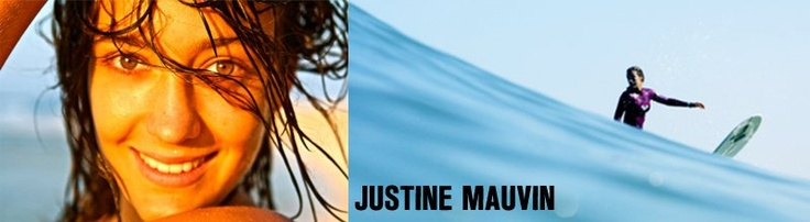 Justine Mauvin - Pro Rider  #surf