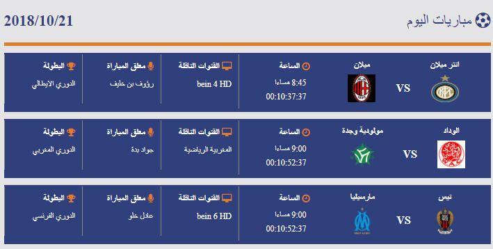 هدف اليوم مباريات اليوم 21 10 2018 Weather Screenshot Weather Pandora Screenshot