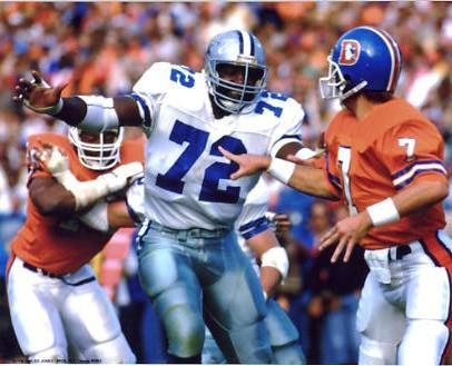 "Ed ""Too Tall"" Jones, DE (1974-1978 and 1980-1989)"