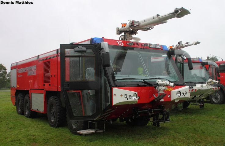 Military airfield fire truck by The-Car-Gallery