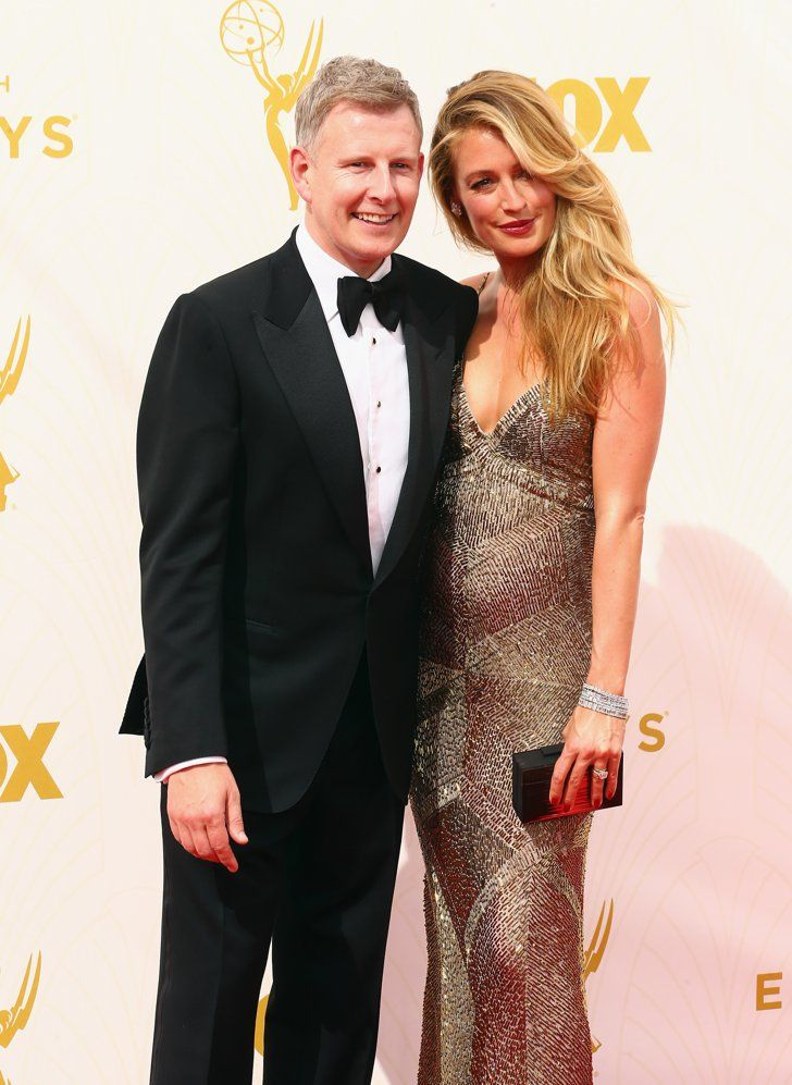 Pin for Later: Parents-to-Be Cat Deeley and Patrick Kielty Get Giggly at the Emmys Patrick Kielty and Cat Deeley