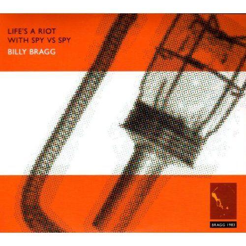 Billy Bragg - Lifes A Riot With Spy Vs. Spy, Blue