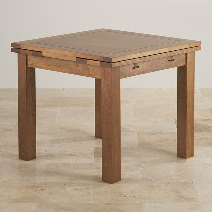 3ft X Solid Oak Extending Dining Table