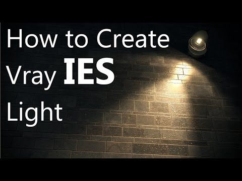 Vray IES light in 3ds max - YouTube