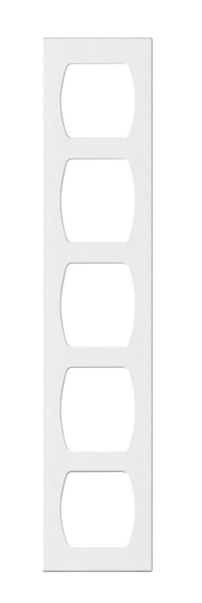 Cooke & Lewis High Gloss White Tall Wine Rack (W)150mm | Departments | DIY at B&Q