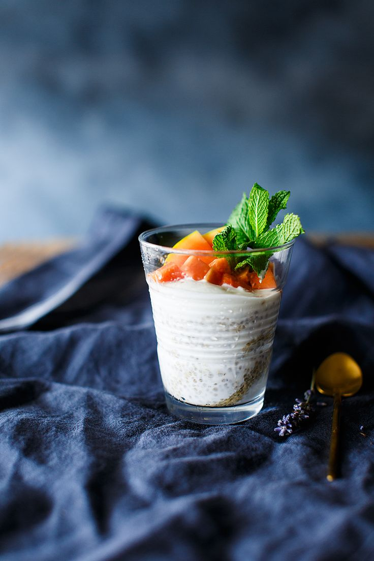 Chia smoothie - Because blog, food photography, food styling, beverage photography