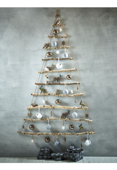 NEW Frosted Branches Hanging Tree - Indoor Living