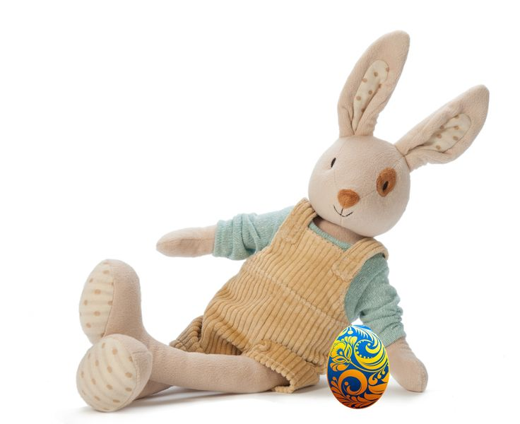 DAY 7 FIND: The cutie Ragtales Alfie Rabbit Soft Toy was hiding the last egg of 2016's hunt - well done to everyone who entered!